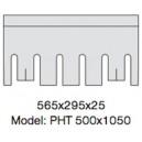 Pallmann 565 x 295 x 25 Model PHT 500 x 1050
